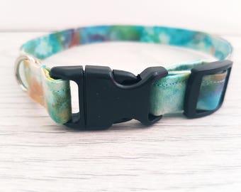dog collar / collar / blue collar / green collar