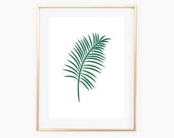 Leaf Wall Art, Leaf Printable, Leaf Decor, Digital Print, Digital Download Art, Nature Art, Wall Print, Nature Design, Leaf Digital Art