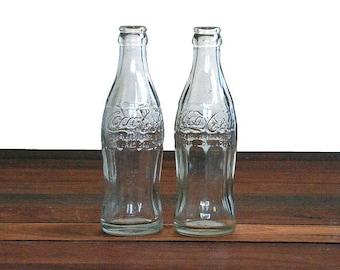1960's Coke Bottles x 2