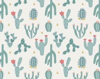 Cactus Fabric - Succulent Fabric - Cute Cactus Print - Succulent Print Fabric - Southwestern Fabric - Southwest Fabric - Cactus Quilt Fabric