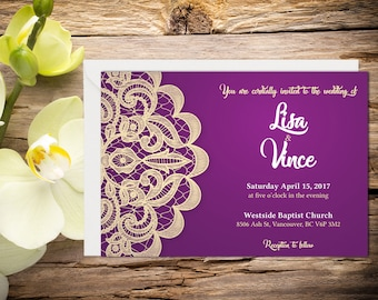 Printed Classic Wedding Invitation, Classic Wedding Invitation, Indian Wedding, Henna Invitation, Printed Wedding invitation
