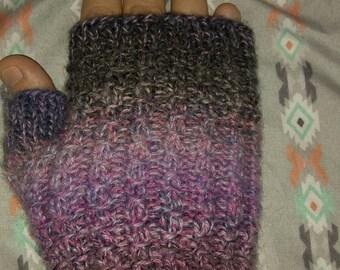 Colorful Handmade Fingerless Hand Warmers