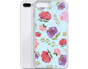 iPhone Case Spring Bouquet Baby Blue