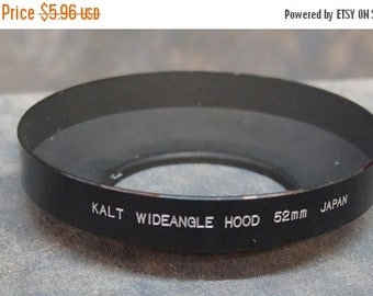 Kalt 52mm Metal Wideangle Lens Hood Screw Mount
