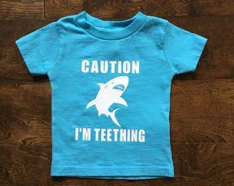 I'm Teething 18 month Toddler Tee