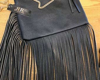 Cross-body Fringe Bag