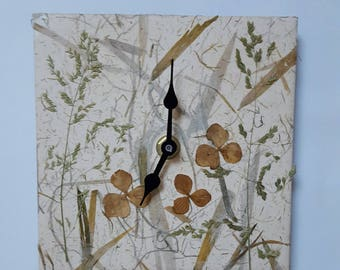 Natural Garden Clock.
