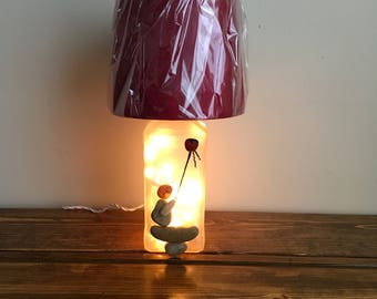 Stone Art  lighted accent lamp.