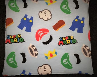 Mario Burp Cloths