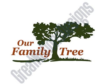 Our Family Tree SVG - HTV - Vinyl Cutting Graphic Art
