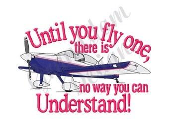 Pilot Airplane - Machine Embroidery Design