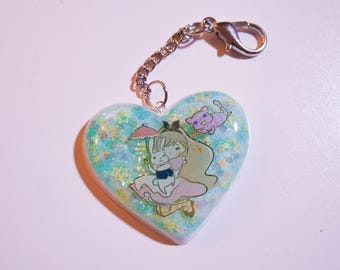 Alice and Friends Resin Charm - Planner Charm/ Phone Charm/ Keychain
