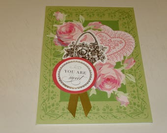 Valentine You Are Sweet Card