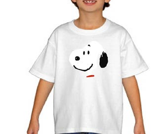 Snoopy Youth Shirt, The Peanuts Gang, Unisex Kids Charlie Brown Tee