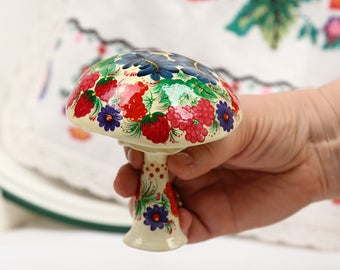 Petrykivka Collectible Wood Mache Figurine Painting petrykivka Figurine Art Decoration Painting