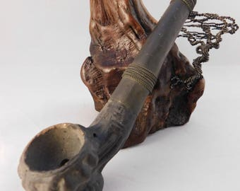 Vintage South East Asian Pipe