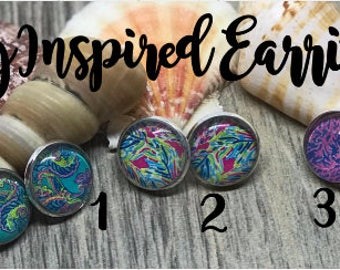 Lilly Inspired Earrings