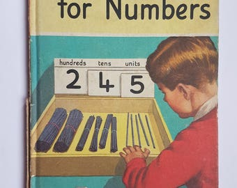 Vintage Ladybird Book, More Words for Numbers, 2'6