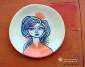 RESERVADO - Platito de cerámica Medusa