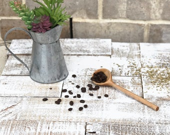Handmade Wooden Coffee Scoop | Hand Carved | Wooden Cooking Utensil | Kitchen Items | Home Goods | Natural | Sustainable