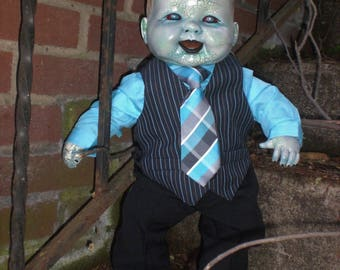 Living / Walking Dead Zombie Baby Boy Doll