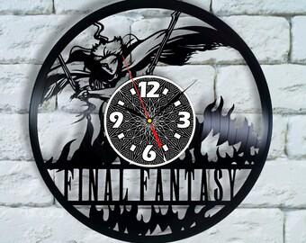 Final Fantasy 7 wall decor final fantasy cosplay chocobo Sephiroth Vivi final fantasy 4 final fantasy xv cosplay final fantasy 15 clock ffxv