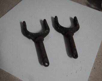 Vintage Brass Oar Locks
