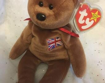 Rare!Britannia BeanieBaby!