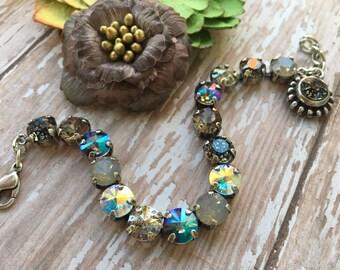 NIGHT LIFE - 8.5mm Swarovski Crystal Bracelet/Necklace