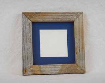 Frame Matted for a 4X4 Photo