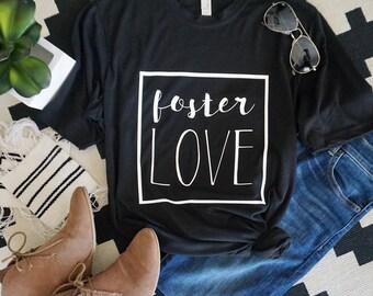 foster love adult shirt