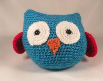 Crocheted Owl Plush