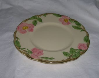 """Vintage FRANCISCAN Desert Rose 6"""" Bread and Butter plate   Total of 12 Available"""