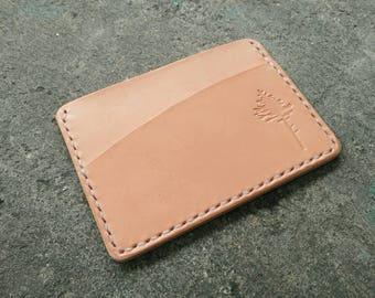Card holder,Minimalist Wallet,leather,Card holder,Wallet,Card Wallet,Vegtan leather,Gift