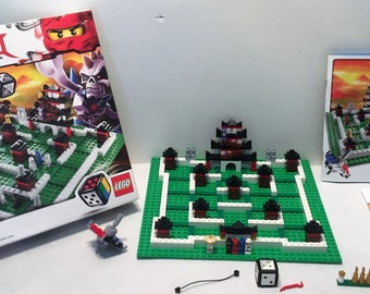 Lego Ninjago The Board Game (3856) Complete in Great Condition FREE SHIPPING