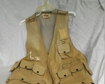 Reduced - Vintage Fishing Vest - Stream King - Japan