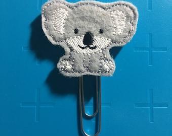 Boy Koala Planner Clip