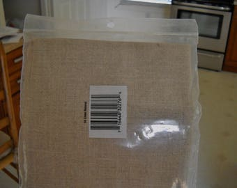 Cross Stitch Belgium Linen 32ct  20 x 27  Un-bleached -sealed pkg.