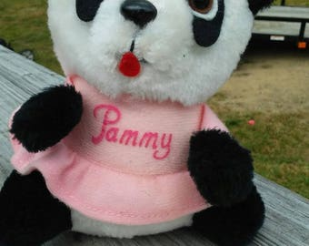 Vintage shirt Tales panda bear Pammy straight  from the 80s