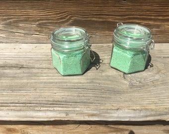 Custom Citrus Green Tea Bath Salts