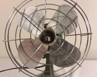 "Vintage Sears Roebucks ""K"" 8"" Fan"