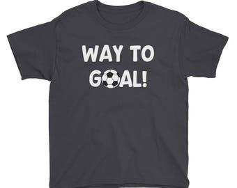 Soccer Shirt for Boys - Soccer Shirt for Girls - Soccer Ball Kids Team Player Sports Youth Short Sleeve T-Shirt