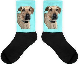 Personalized Socks - Turn your Pet Picture into a Cool Pop Art Socks, Dog Socks, Cat Socks, Custom Sock, Pet Sock, Unique Gift, Custom Gift