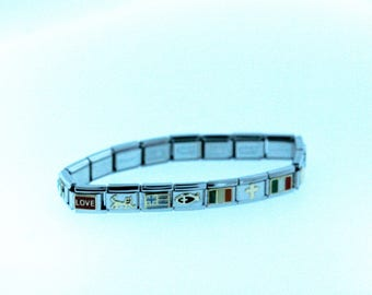 Classic Nomination's Composable Charm Bracelet Stainless Steel