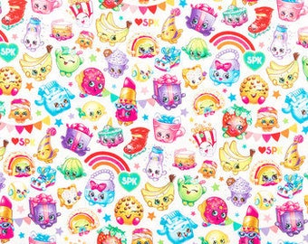 Shopkins fabric by Cotton Calico