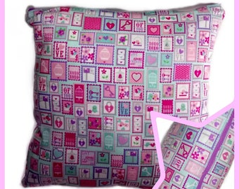 Pillow Love - Decorating Pillowcases - friends