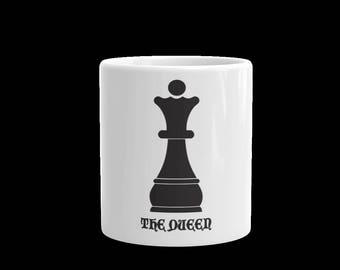 The Queen Coffee Mug-The Queen Tea Cup-Coffee mug-tea mug-gift mug -white ceramic mug