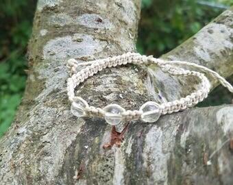 Adjustable Hemp Chakra Bracelets