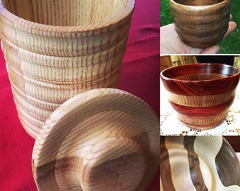 Commissions Welcome! Bowls, Cups, Vases and more!