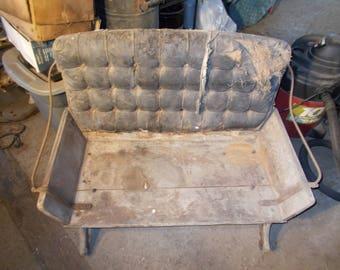 Early Century Antique Buckboard wagon seat